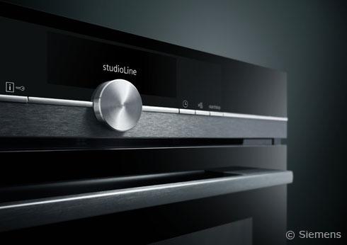Siemens StudioLine in Black Steel gestaltet das Wohnen und Einrichten zeitgemäß und modern
