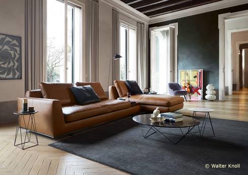 Die Walter Knoll AG & Co. KG aus Herrenberg produziert seit 1865 Polstermöbel und Interieur