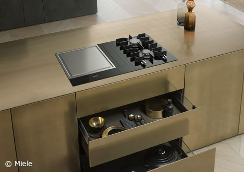 Miele in Gütersloh hat mit SmartLIne neue Kochelemente entwickelt.