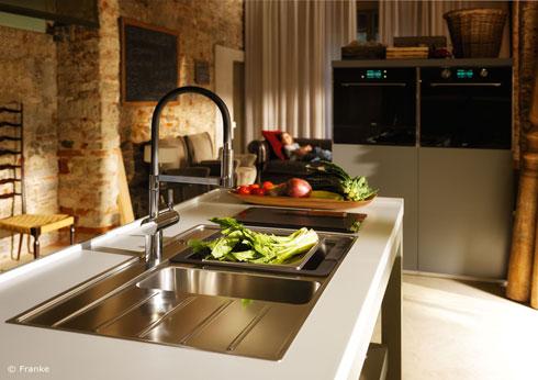 Frames by Franke Modulares System für Küchentechnik