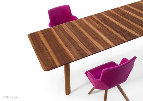 Girsberger entwickelt und produziert neuartige Möbel zum Thema Sitzen.