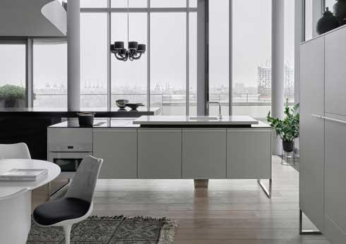 Modulare Wohnküchen