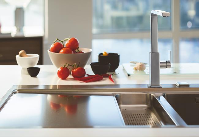 Franke mit neuen und formschönen Küchenarmaturen