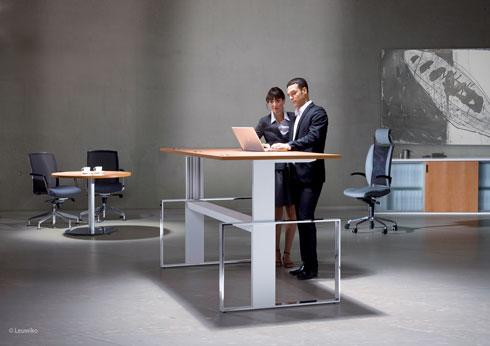 Leuwiko Büromöbel aus Wiesenfeld