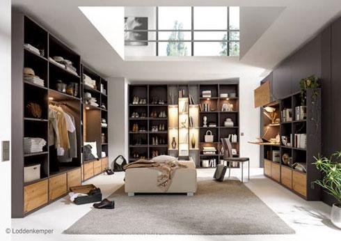 Das perfekte Schlafzimmer mit Ankleideraum