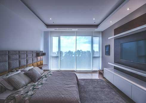 Futuristische Schlafzimmer