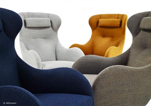Wittmann Polstermöbel, Sitzmöbel und Freischwinger