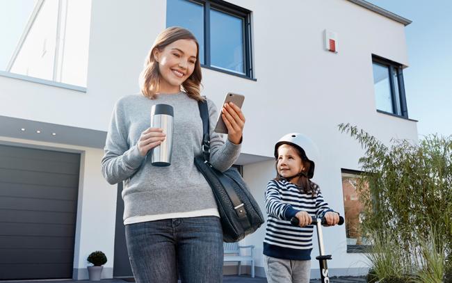Intelligente geb udesteuerung for Wohnen einrichten