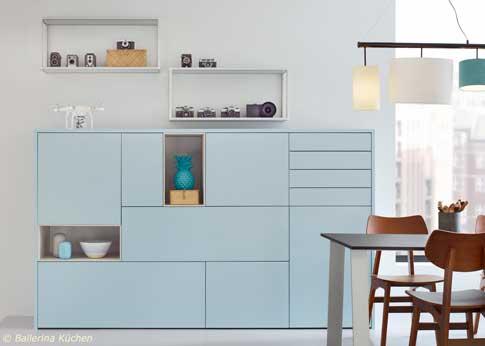 Ballerina Küchen produziert moderne Einbauküchen mit praktischen Features in Rödinghausen