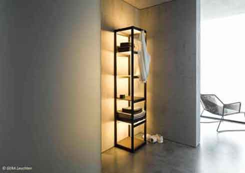 Gera Lichtsysteme gestaltet und produziert puristische Leuchten für angenehmes Wohnen