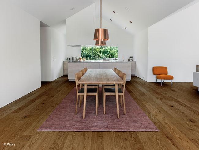 Parkettboden mit ultra mattlack for Wohnen einrichten blog