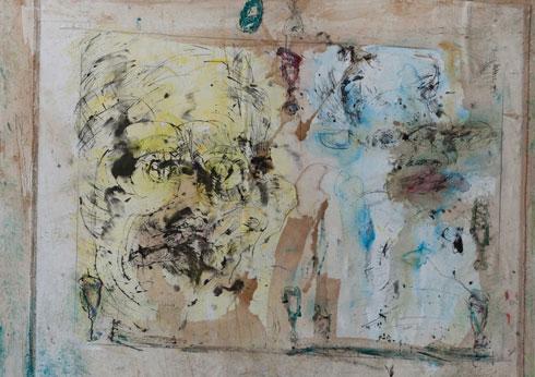 Abstrakte Malerei von Marek Bieganik aus Bielefeld