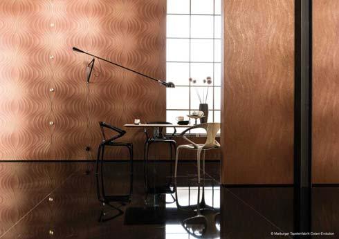 Die Marburger Tapetenfabrik entwickelt Tapetenkollektionen mit namhaften Designern